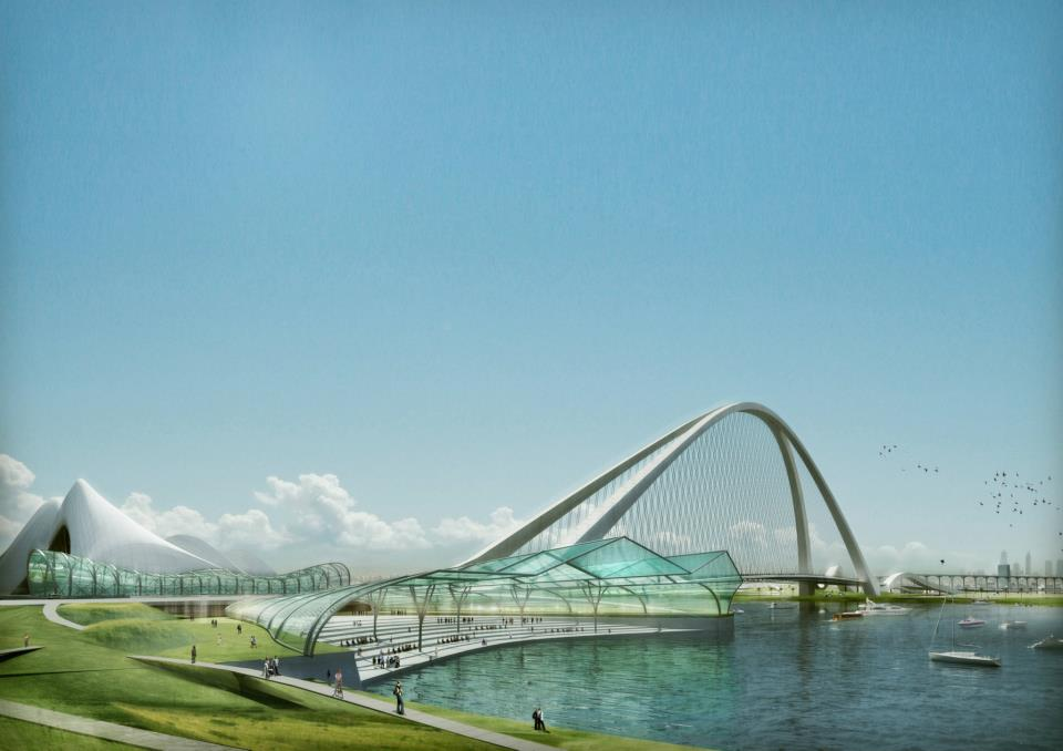 sheikh-Rashid-bin Saeed Crossing-Project in Dubai