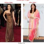 Aishwarya-Rai-weight comparison before and after baby Girl  and Aishwarya-Rai Picture after Baby Girl Birth