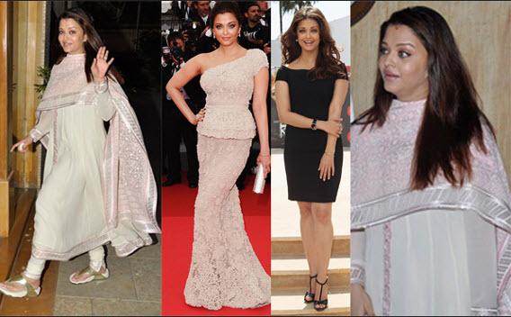 Aishwarya Rai Bachchan Weight Gain: Husband Abhishek Rides ...  |Aishwarya After Baby Birth