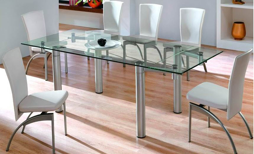 Beautiful Glass Dining Table Design