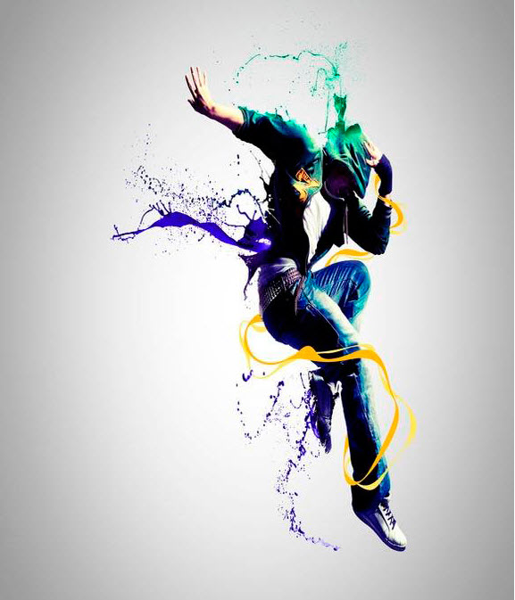 Dance-Photo-Manipulations-in-adobephotoshop backgrounds