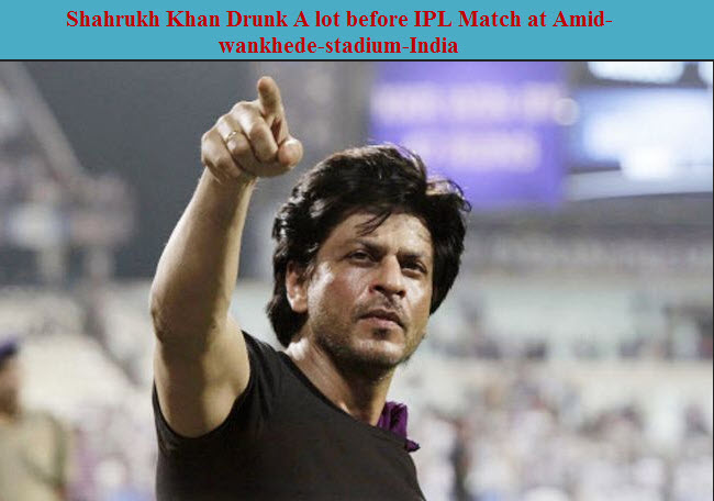 Drunk-Shahrukh-Khan-IPL-Match-2012