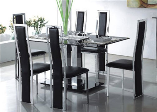 Latest Glass Dining Table Designs 2016 itsmyviewscom : Glass Dining Table design from itsmyviews.com size 503 x 360 jpeg 32kB