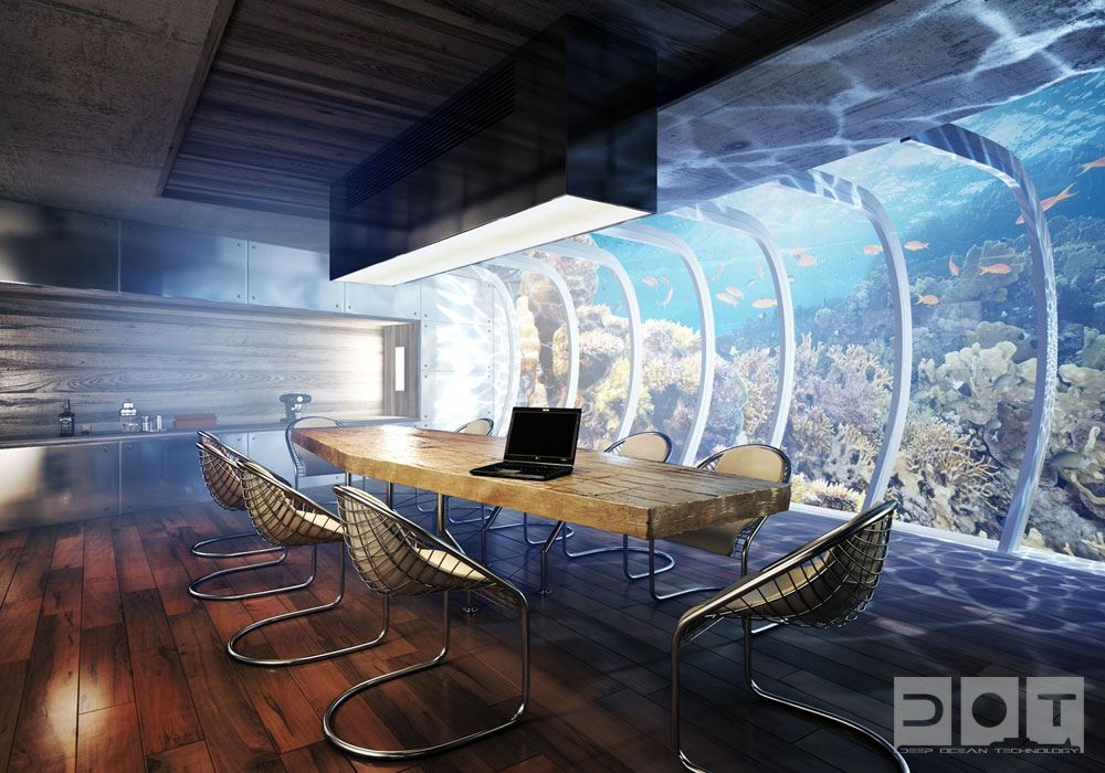 Hydropolis Hotel-world-first-underwater hotel and room