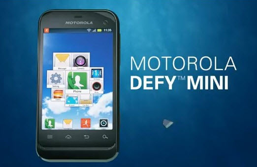 Motorola-Defy Mini XT320 Review