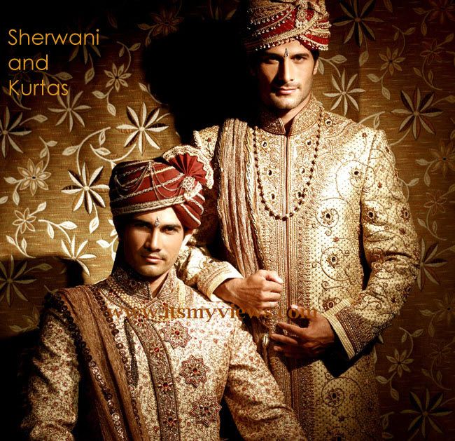 Sherwani-and-Kurta-Design-for-men-at-wedding