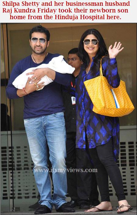 Shilpa-Shetty-new-born-baby-boy-hospital