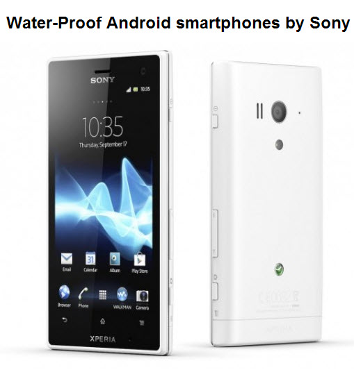 Sony-Latest-waterproof-smartphone-2012