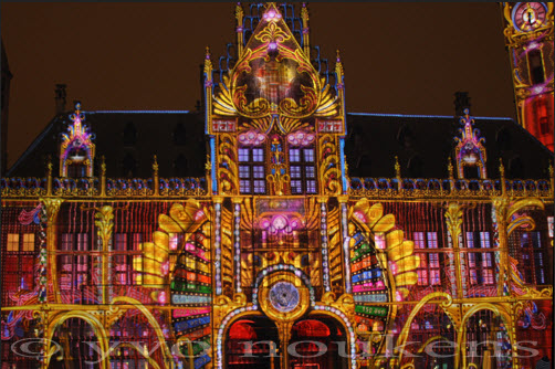 belgium-ghent-light-festival 2012 photo