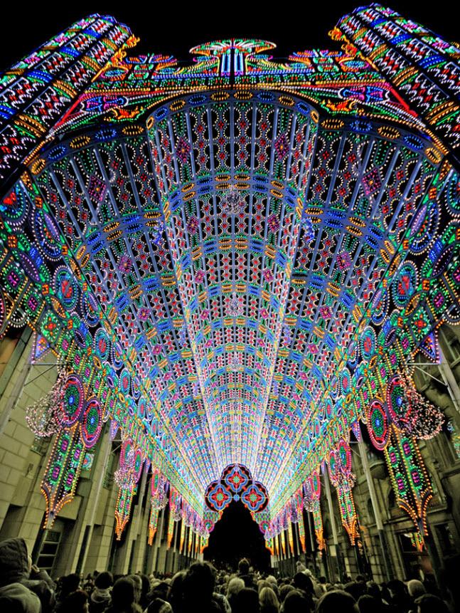 belgium-ghent-light-festival 2012