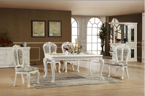 dining-table-design-white-color