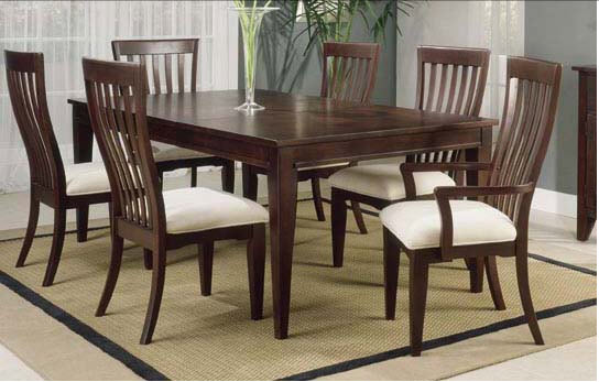 Dining table indian wooden dining table designs for Dining table set latest design