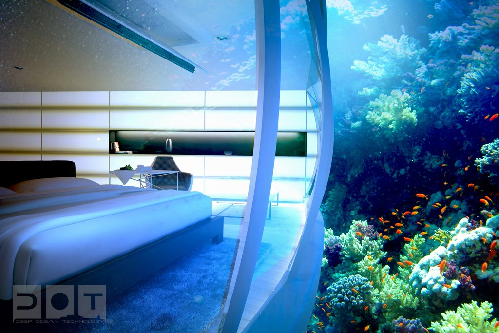 dubai-underwater-hotel rooms