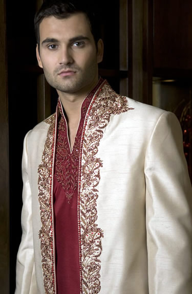 silk-sherwani-wedding-for-Men