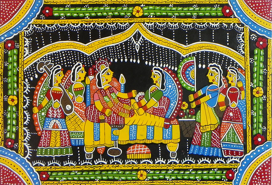 indian-culture paintings