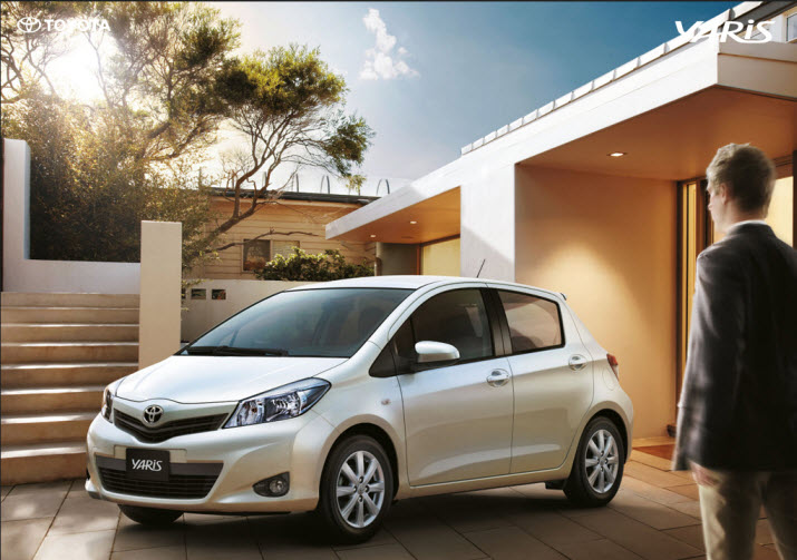 Latest-Toyota-yaris-model