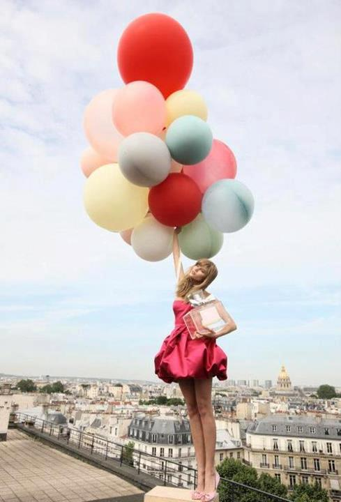 Red-color-baloon-with-girl-latest-snapshot