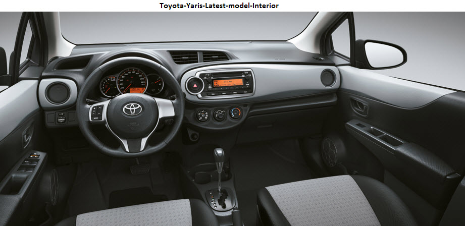 Toyota-Yaris-Latest-model-Interior