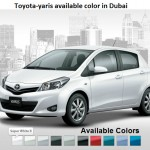 Latest Toyota New shape Yaris Car model 2013 Review price and technical specification