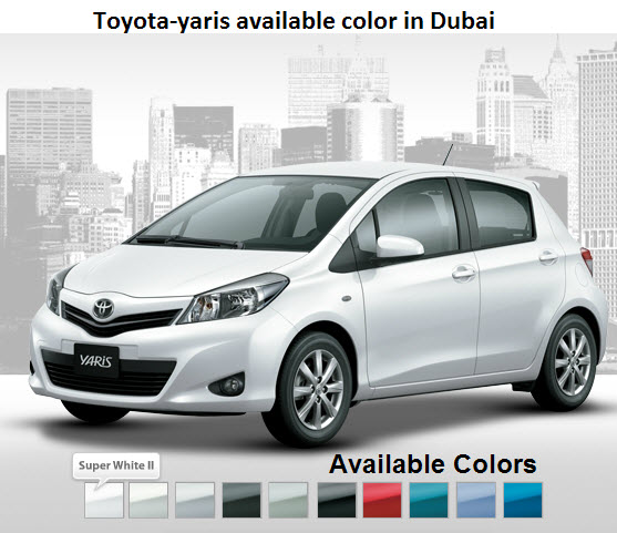 Toyota-yaris-available-color-in-UAE-Dubai-Abu-Dhabi