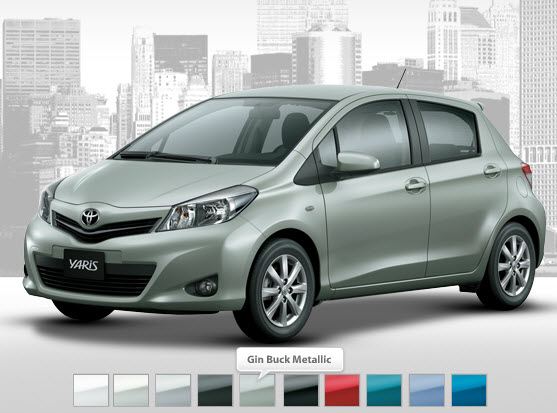 Toyota-yaris-best-Most popular-color-in-UAE-Dubai-Abu-Dhabi