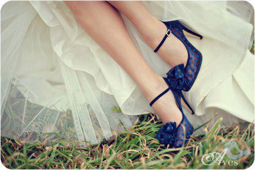blue-color-high-heel-shoes-for-bridal