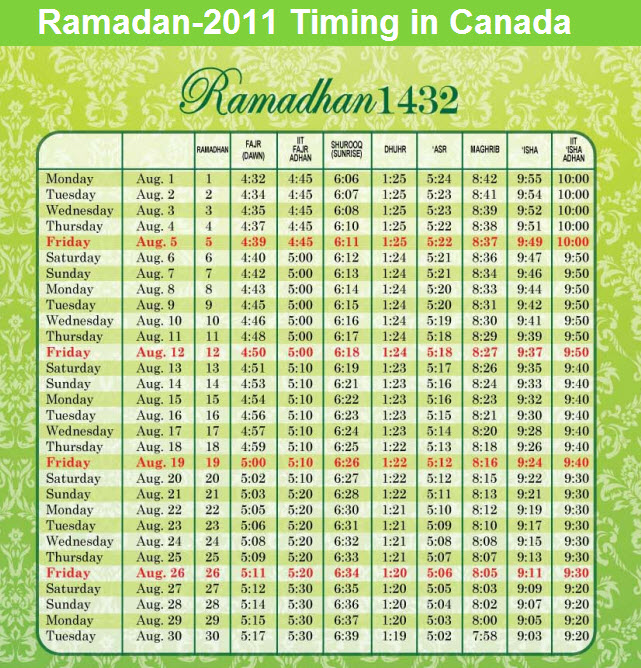 ramadan-calender-2011-canada-with-sehr-aftar-timing