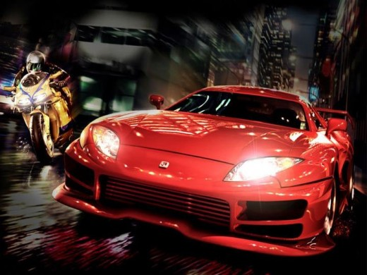 most-stylish-red-color-car-bike-wallpapers-2012-2013
