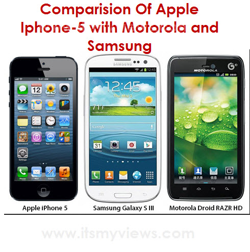 Apple-iphone5-Comparison-Samsung Mobile model