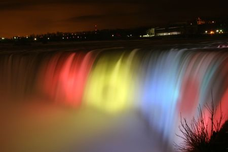 Niagara-waterfall-Night-view-with-Beautiful-lighting-picture