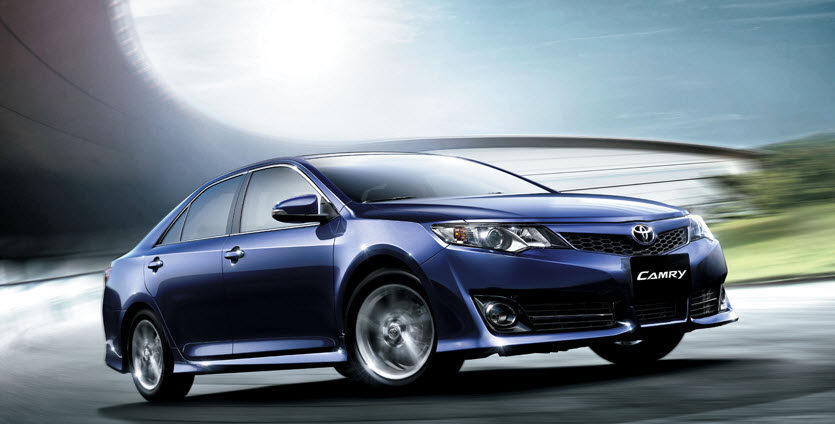 Latest-Toyota-Camry-2013-Blue-Color-Shape-wallpapers