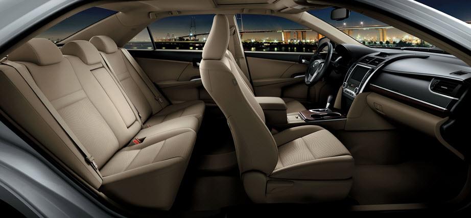 Latest-Toyota-Camry 2013 interior-seats