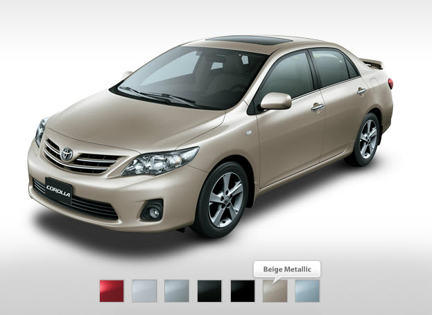 Latest-Toyota-Corolla-2013-Metallic-Color-Price