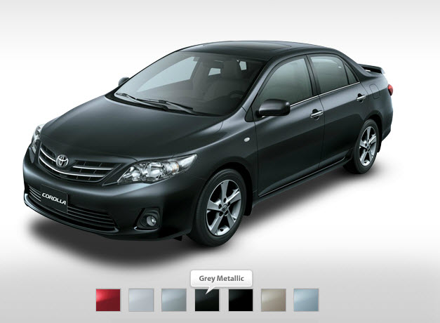 Latest-Toyota-Corolla-2013-XLI-GLI-Mid-Range-Grey-Metallic-Colors