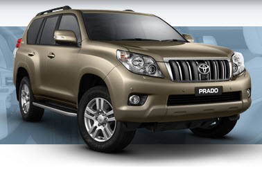 prado is 5 door but 2door prado 2013 give you