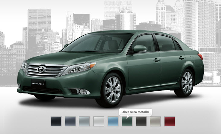 Toyota-Avalon-2012-2013-Olive-Mica-Metallic-Color-Picture