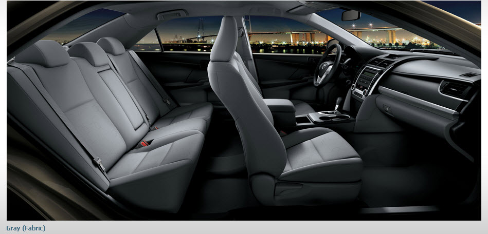 Toyota-Camry-model- 2013 interior