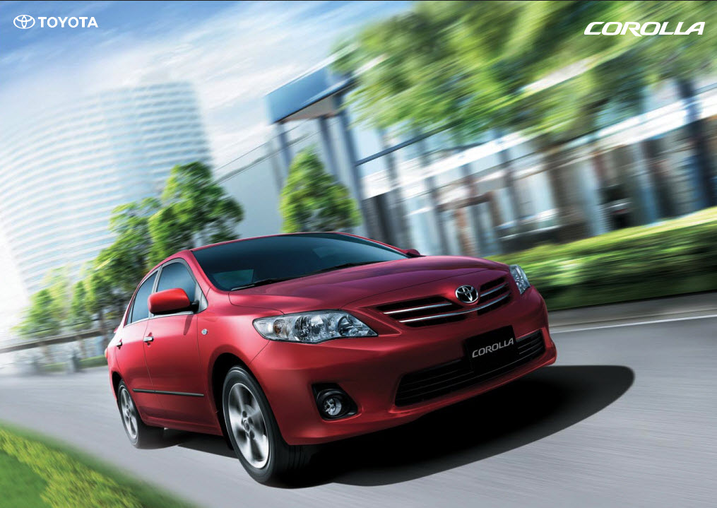 Vehicle Of The Month  Toyota Corolla Gli 2013