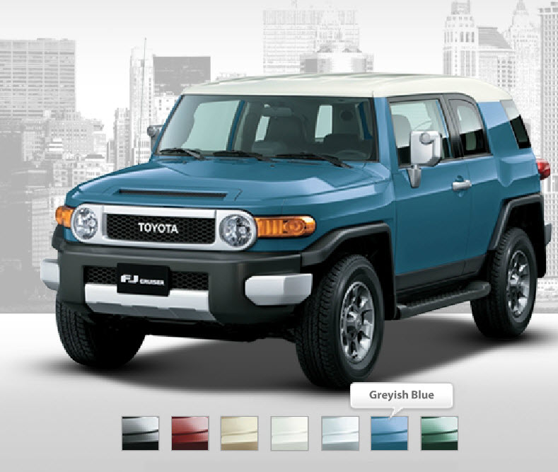 Toyota-FJ-Cruiser-2013-Greyish-Blue-Color-Picture