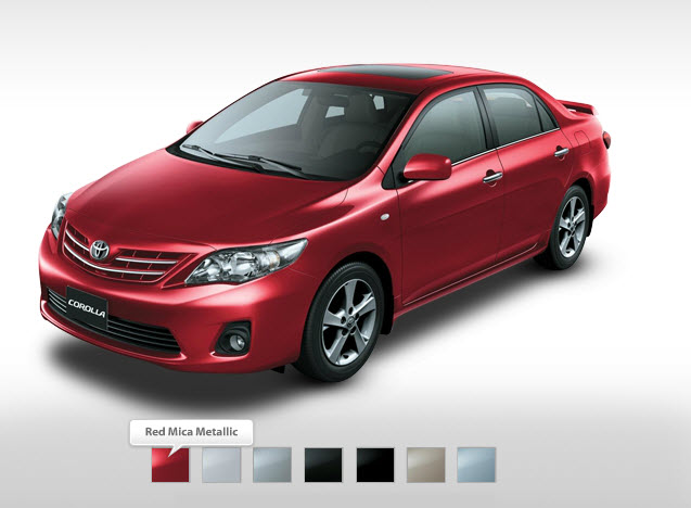 Toyota-corolla-XLI-Mid-range-2013-Red-color-in-Dubai