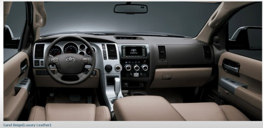 toyota-sequoia-2013-car-4-wheel-interior-sand-beige-luxury-leather
