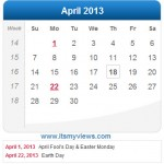 Latest Beautiful Calendar 2013 Wallpapers