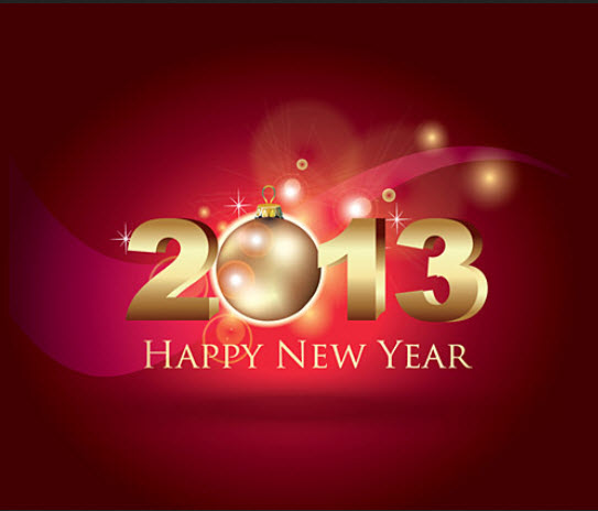 2013-Latest-newyear-wallpaper-with-red-color-background