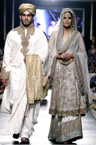 HSY-Bridal-Dress-collection 2013 for Night Function