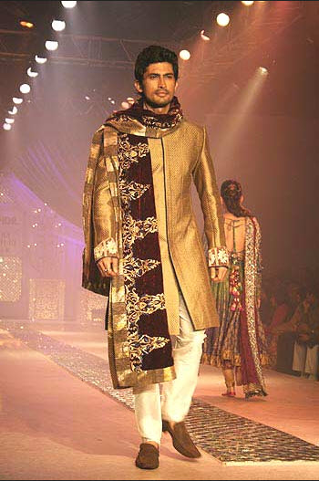 Latest Groom sherwani design 2013