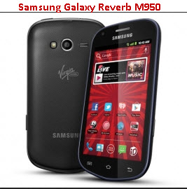 Latest-Samsung CDMA-2013 Mobile Samsung Galaxy Reverb M950