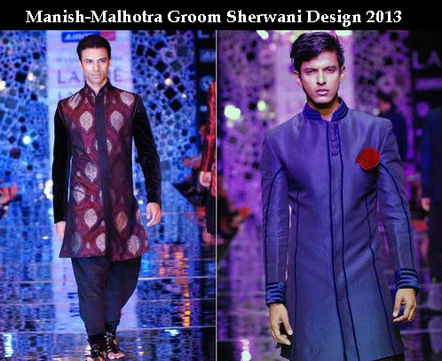 Manish-malhotra sherwani design with price