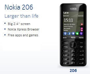 Nokia-206-Mobile-review-and-price
