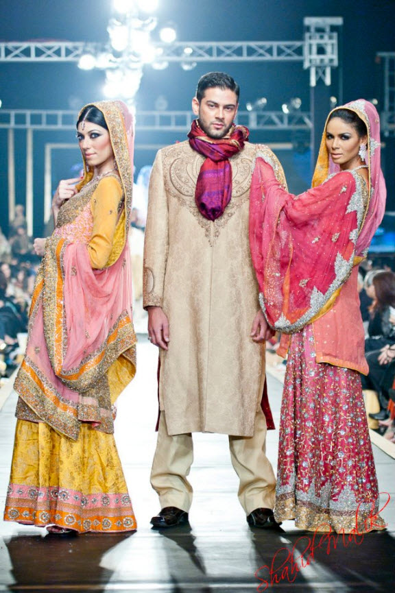 Pakistan Best Bridal Dress Fashion designer 2013