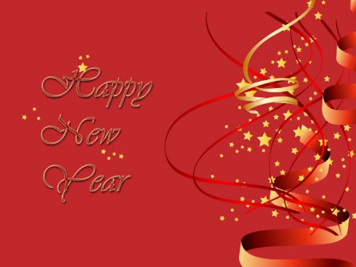 Simple-and-decent-new-year2013-HD-Picture-background-wallpaper